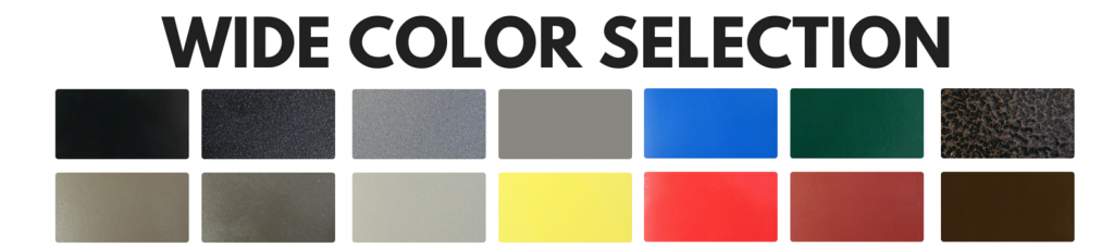 Arched Memorial Bench Color Selection