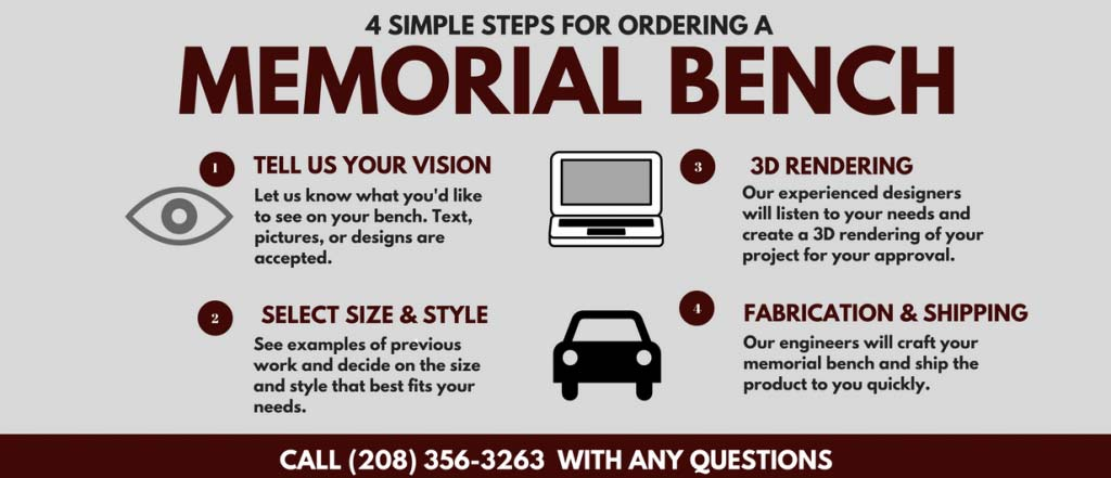 Ordering Process for Premier Memorial Benches