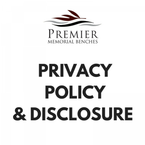 Premier Memorial Benches Privacy Policy