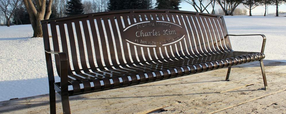 Premier Memorial Benches