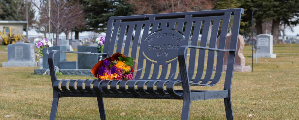 Premier Memorial Bench custom